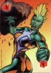 Power Card: Fighting 5 She-Dragon