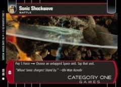 Sonic Shockwave - Foil