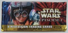 Star Wars Episode 1 Widevision Trading Cards Pack