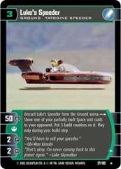 Luke's Speeder (A)
