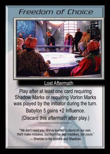 Babylon 5 CCG Promo Card Selection
