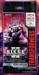 War for Cybertron Siege 2 Booster Pack x 3