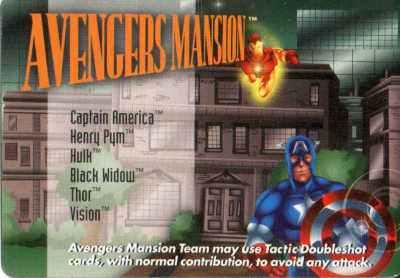 Location Avengers Mansion