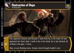 Destruction of Hope