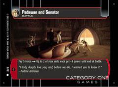 Padawan and Senator - Foil