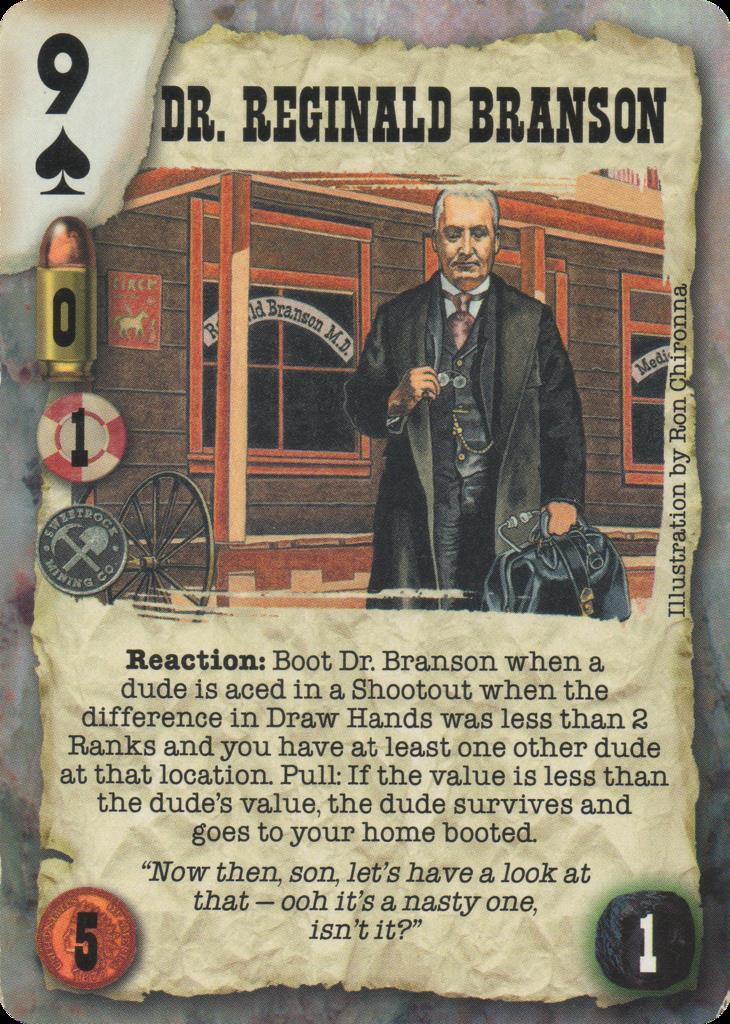 Dr. Reginald Branson