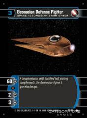 Geonosian Defense Fighter - Foil