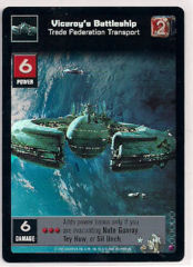 Viceroys Battleship, Trade Federation Transport [Foil]