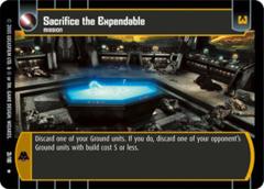 Sacrifice the Expendable