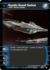 Republic Assault Gunboat - Foil