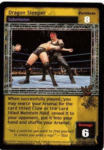 Raw Deal WWE SS2 Sleeper