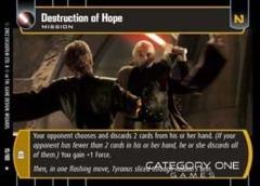 Destruction of Hope - Foil