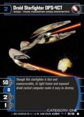 Droid Starfighter DFS-4CT - Foil