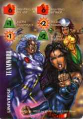 Universe: Teamwork-Fighting 6F ES +1+2  Psylocke, Rogue and Storm