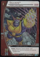 Thanos, Alpha and Omega (EA)