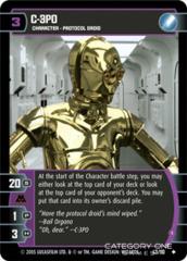 C-3PO (I) - Foil