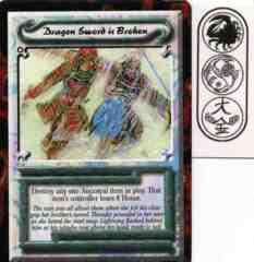 Dragon Sword is Broken