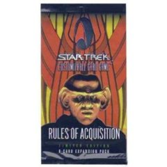 Rules of Acquisition 130 Card Full Set