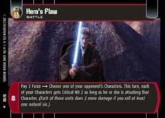 Hero's Flaw