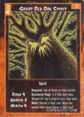 Great Old Oak Spirit