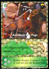 Archibald the Page