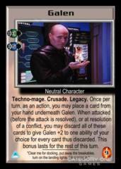 Galen (holding fire)