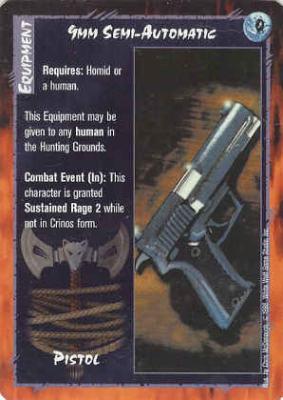 9mm Semi-Automatic
