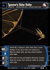 Tyranus's Solar Sailer (A) - Foil