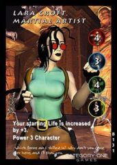 Lara Croft, Martial Artist