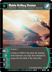 Mobile Artillery Division - Foil