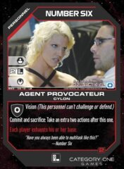 Number Six, Agent Provocateur (Foil)