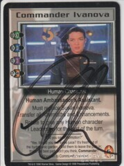 Commander Ivanova (signed by Claudia Christian) [Deluxe]