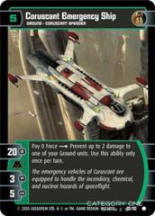 Coruscant Emergency Ship - Foil
