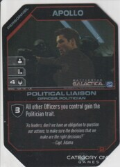 Apollo, Political Liaison (Foil)