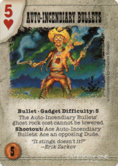 Auto-Incendiary Bullets