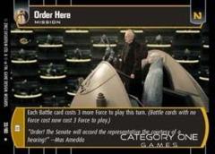 Order Here - Foil