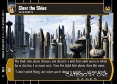 Clear the Skies - Foil