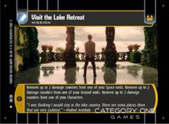 Visit the Lake Retreat - Foil
