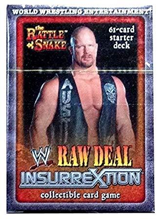 Raw Deal Insurrextion Stone Cold Steve Austin 61-Card Sealed Deck