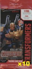.Rise of the Combiners Booster Pack x 10