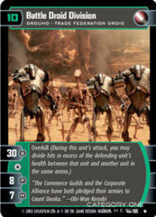 Battle Droid Division - Foil