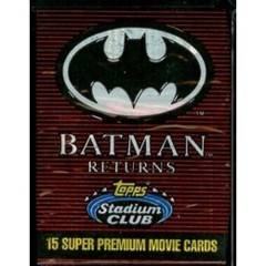 Batman Returns Topps Stadium Club Pack