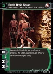 Battle Droid Squad - Foil