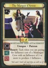 The Marquis d'Arrent