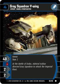 Gray Squadron Y-wing