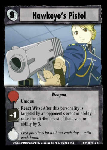Hawkeyes Pistol