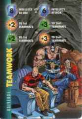 Universe: Teamwork-Intellect 8I ES +2+3  Lex Luthor, Ra's Al Ghul & Bane