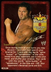 Batista Superstar Card (Promo)