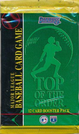 Top of the Order Baseball Pack