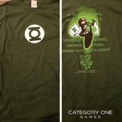 T-Shirt DGL Green Lantern